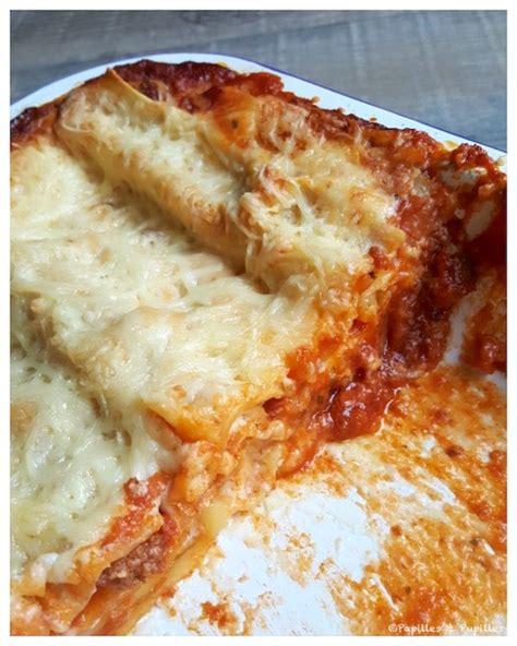 cuisine lasagne facile lasagnes bolognaises faciles