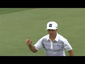 Rickie Fowler makes a 36-foot eagle putt at Accenture ...