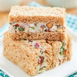 thirsty for tea turkey tarragon tea sandwiches
