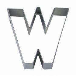 Emporte Piece Lettre : emporte pi ce lettre w stadter 6 5cm ~ Melissatoandfro.com Idées de Décoration