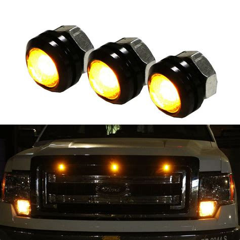 Truck Grill Lights by 3pc Ford Svt Raptor Style Led Grille Lighting Kit