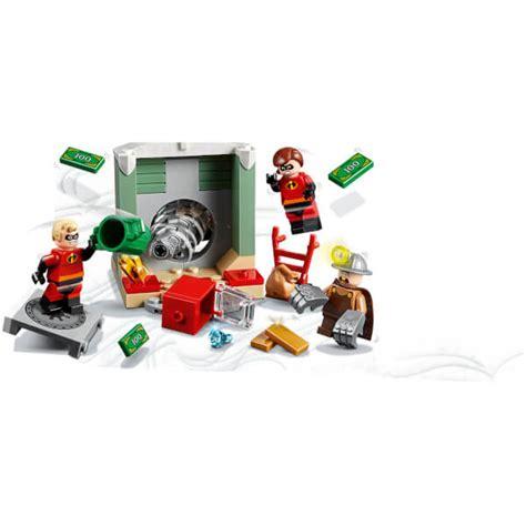 Lego Juniors Disney Incredibles 2 Underminer Bank Heist