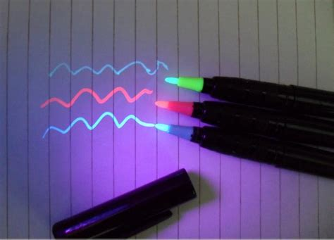 Black Light World Quot Invisible Ink Pens Markers Quot