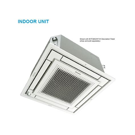 ceiling cassette mini split size daikin 9 000 btu 20 9 seer heat air conditioner
