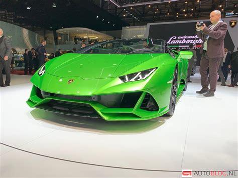 Lamborghini Huracán Evo Spyder Livepics