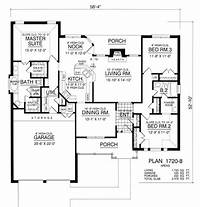dream house plans The Country Dream 8183 - 3 Bedrooms and 2.5 Baths | The ...