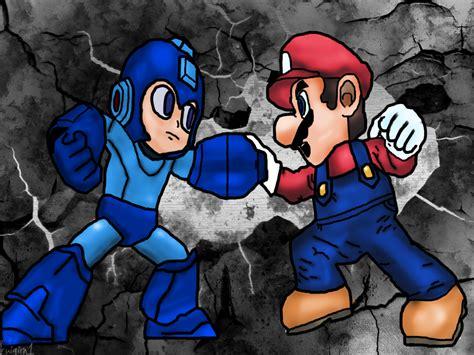 Megaman Vs Mario Bros D By Luigirn1 On Deviantart