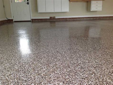 garage floor paint with flakes granite garage floor in cary nc full flake broadcast witcraft painting renovation