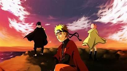 Naruto Sakura Sasuke Uchiha Cliff Seven Sea