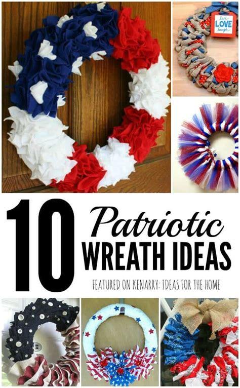 4th of july wreaths 10 patriotic ideas for door decor