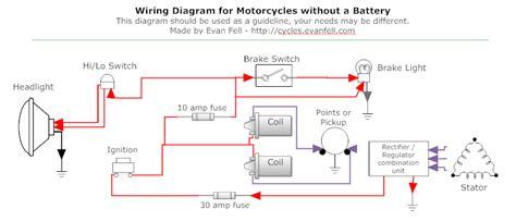 caf 233 racer wiring custom motor motorcycle wiring