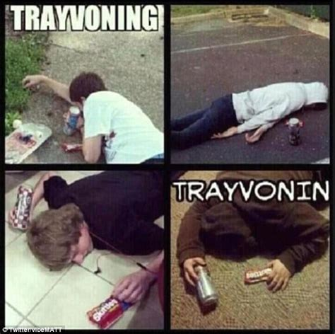 Trayvoning Meme - trayvoning posing like trayvon martin s dead body for laughs