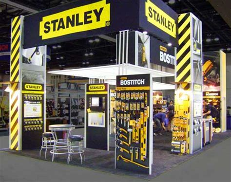 case study hill partners designs stanley tools booth