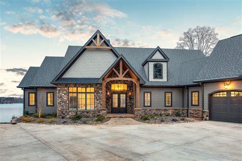 classic lake house custom home clemson