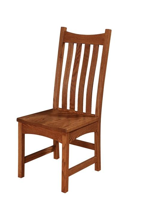 american made mission dining chair