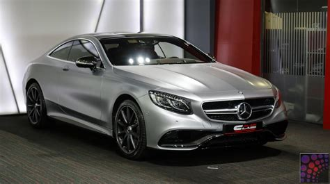 Mercedes Benz S63 Amg Coupe 4matic 2016