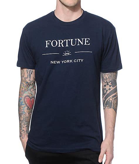 T Shirt Kaos New York fortune new york t shirt at zumiez pdp