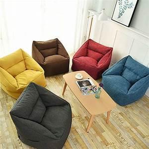 Waterproof, Bean, Bag, Lazy, Sofa, Beanbag, Sofas, Indoor, Seat, Chair, Cover, Large, Bean, Bag, Cover