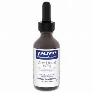 Zinc Liquid 15 Mg  Pure Encapsulations