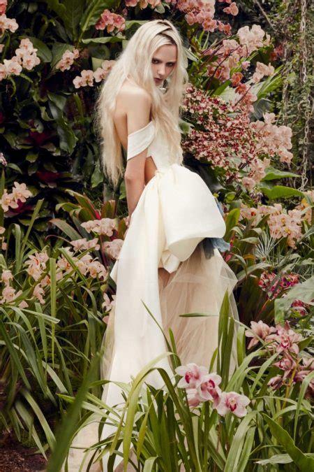 vera wang bridal spring  wedding dresses fashion