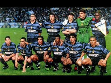 Best INTER Team Ever (1997/98) - YouTube
