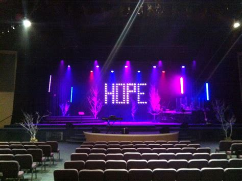 hope floats church stage design ideas church stage