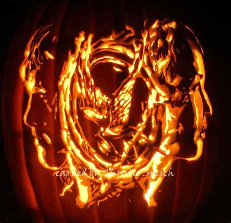 hunger pumpkin carving the hunger games pumpkin carving patterns