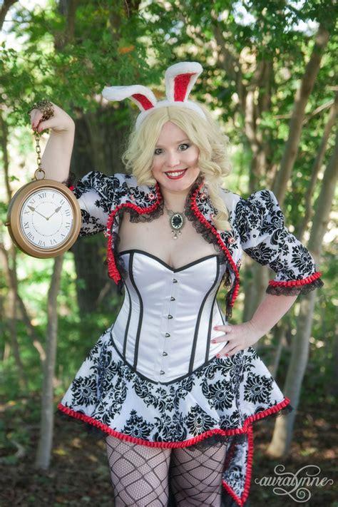 white rabbit costume alice  wonderland auralynne