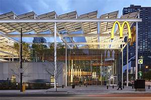 McDonalds Global Flagship In Chicago Think Wood