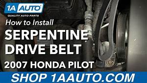 How To Replace Serpentine Belt 03