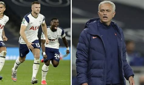 Tottenham boss Jose Mourinho explains why he ran after ...
