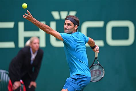 Born 8 august 1981) is a swiss professional tennis player. Roger Federer stretches winning streak on grass to 17 in Halle | TENNIS.com - Live Scores, News ...