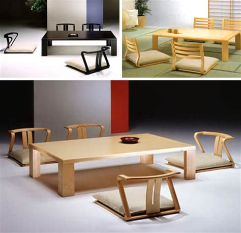 floor furnitures japan style dining room tables chairs