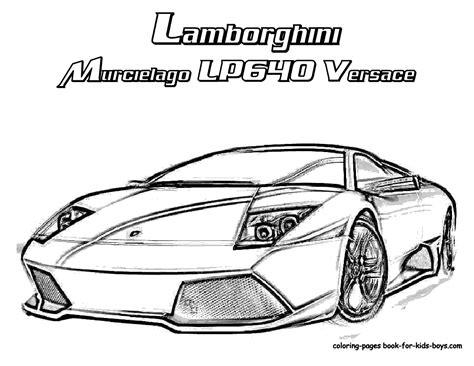 Kleurplaat Lamborghini Sesto Elemento by Lamborghini Colouring Page Pencil And In Color