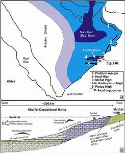A  The Arabian Carbonate Platform With Deeper Intra