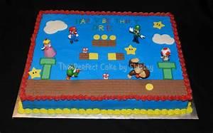 Super Mario Sheet Cake - CakeCentral com