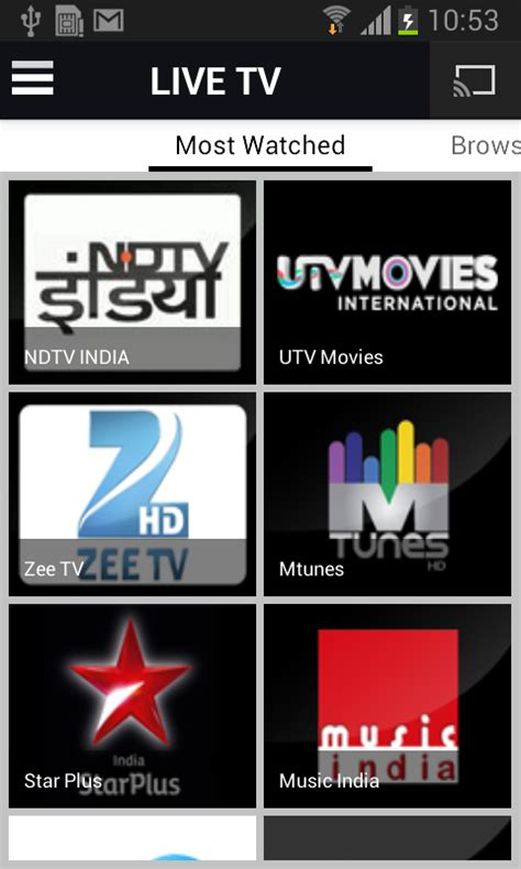 free tv for android mobile free yupptv indian mobile live tv apk for