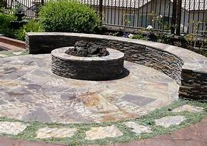 Fire pit san diego ca photo gallery landscaping network for Functional rounded garden stones firepit backyard