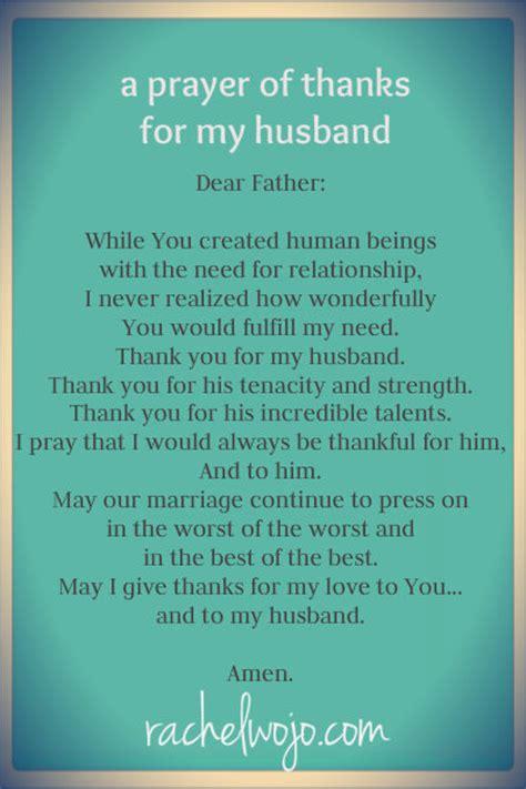 prayer     husband rachelwojocom