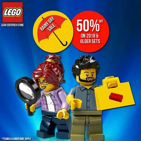 manila shopper lego rainy day sale aug