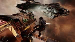 Star Citizen Video Games Concept Art Space Spaceship