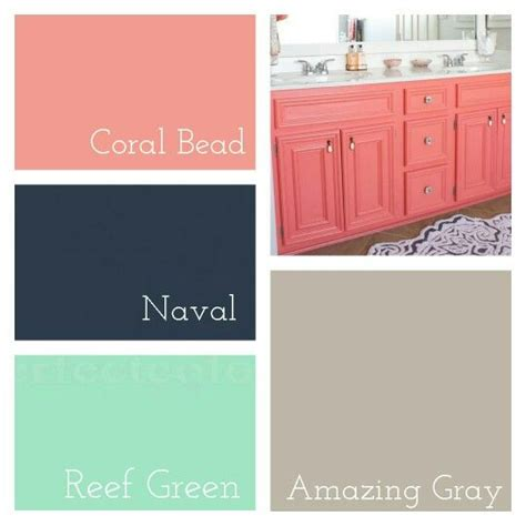 master bathroom colors sherwin williams coral bead