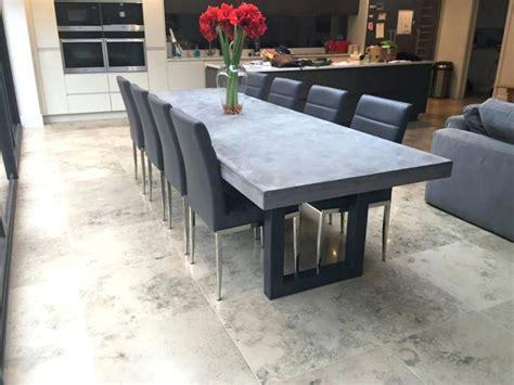 concrete top outdoor dining table concrete top outdoor dining table thelt co