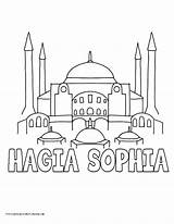 Hagia Coloring Pages History Sophia Drawing Branch Sofia Printable Mosque Legislative Ancient Caleb Sketch Template Drawings Mesopotamia Myhomeschoolprintables Getdrawings Pdf sketch template