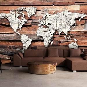 Weltkarte Bild Holz : ber ideen zu fototapete weltkarte auf pinterest ~ Lateststills.com Haus und Dekorationen
