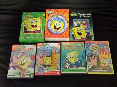 Lot Spongebob Squarepants Dvd Box Sets Complete Seasons 1