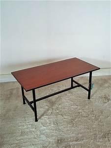 Table Basse Année 50 : table basse vintage ann es 50 hollychine gom brocante vintage ~ Teatrodelosmanantiales.com Idées de Décoration