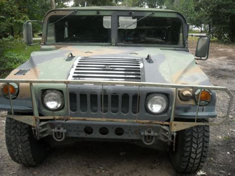 original hummer h1 humvee military m998 h1 all original 1993 hummer