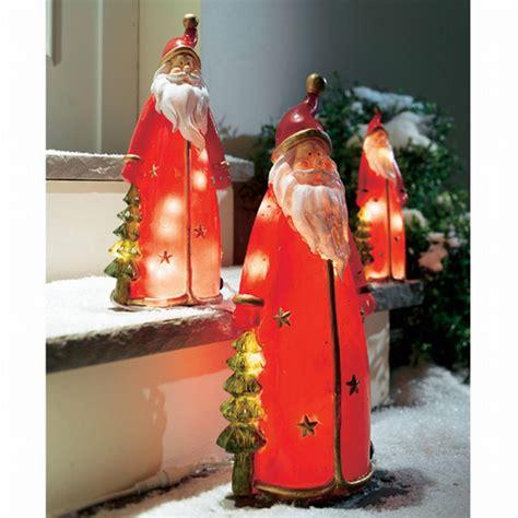 Weihnachtsdekoration Aussen Beleuchtet weihnachtsmann figur beleuchtet weihnachtsdekoration