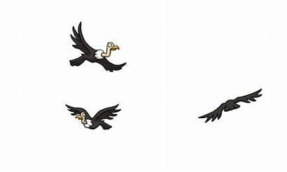 Circling Artstation Vultures Artwork